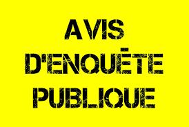 AVIS ENQUETE PUBLIQUE
