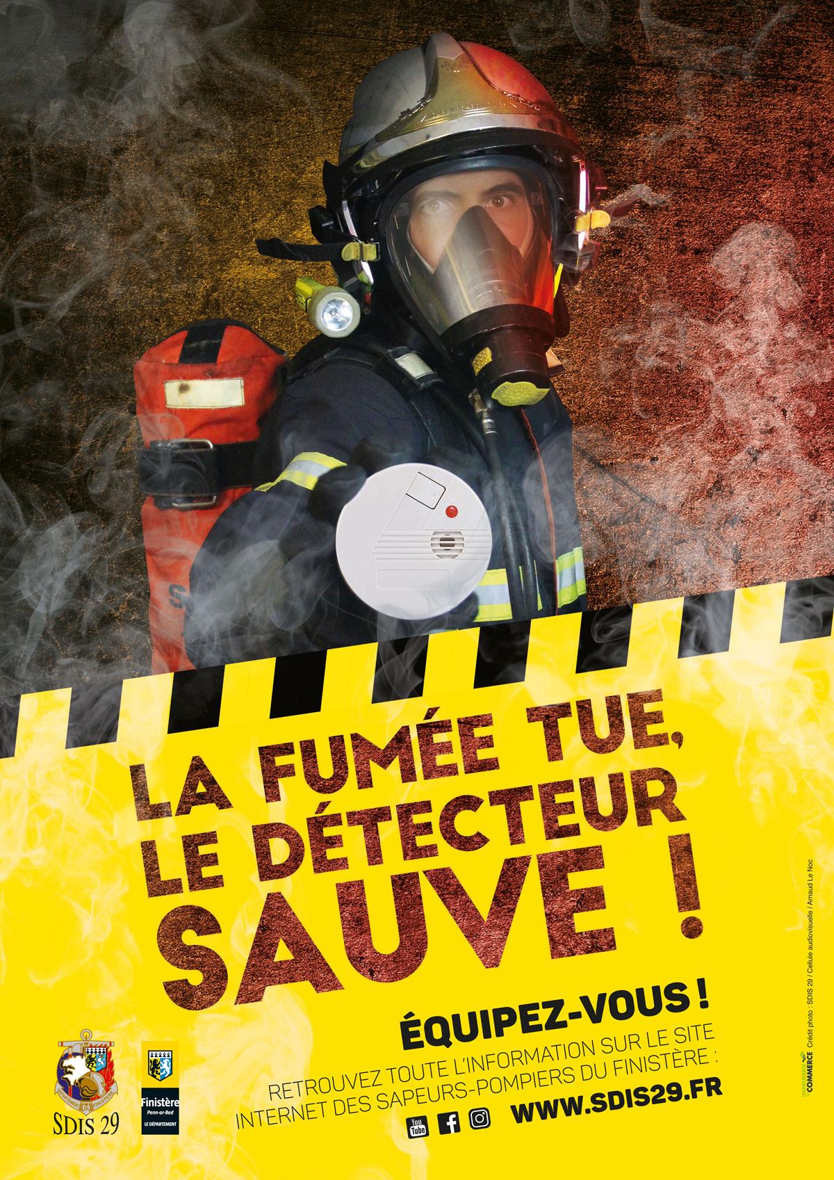 Le Détecteur De Fumée Sauve Des Vies, équipez-vous!