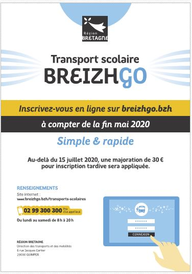 TRANSPORT SCOLAIRE 2020-2021